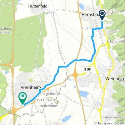 Hemsbach-Viernheim