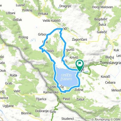 Krug oko Buskog i Lipskog jezera