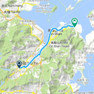 Tai Wai to Kwun Hang