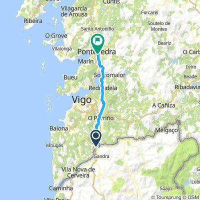 Day #12 Tui to Pontevedra