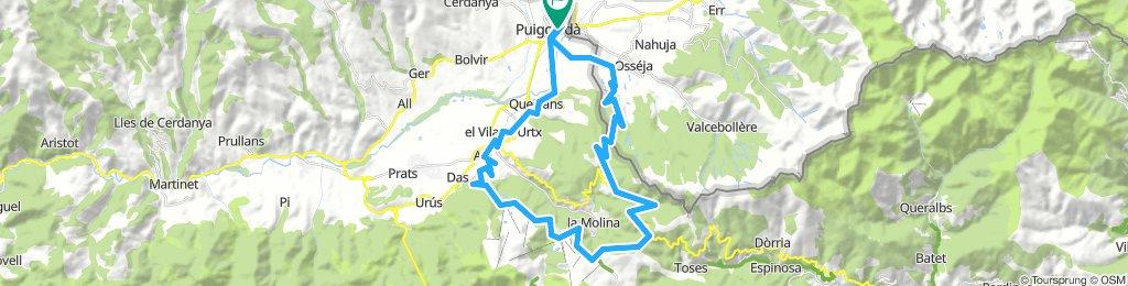Puigcerda-Masella-Molina-Palau-Puigcerda