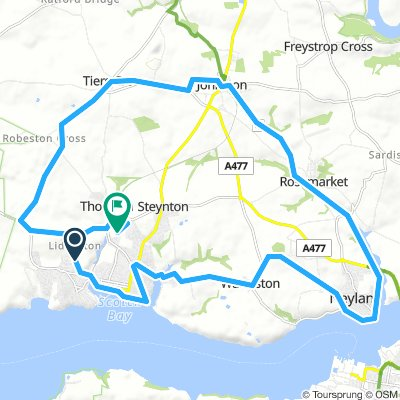 Milford Haven Cycling