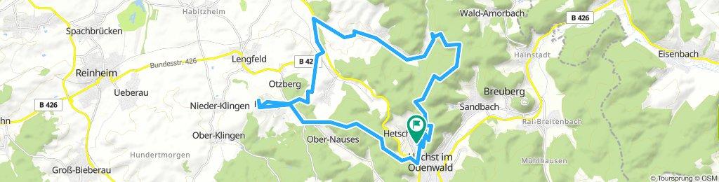Otzberg und Heubacher Tal