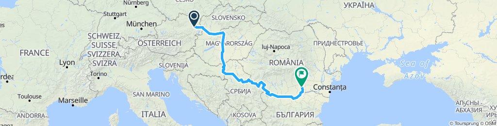 Danube Vienna to Bucharest