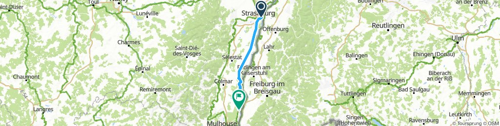Day 10 Strasbourg to Blodelsheim