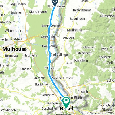 Day 11 Blodelsheim to Basel