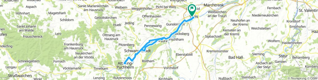 Moderate Route in Prambachkirchen