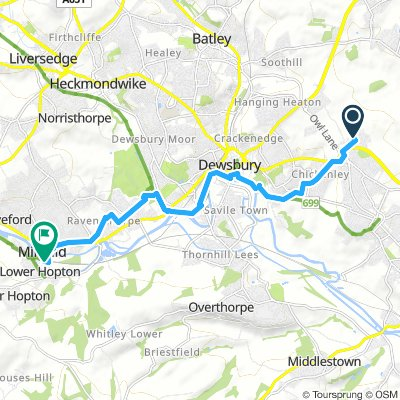 Gawthorpe to Mirfield