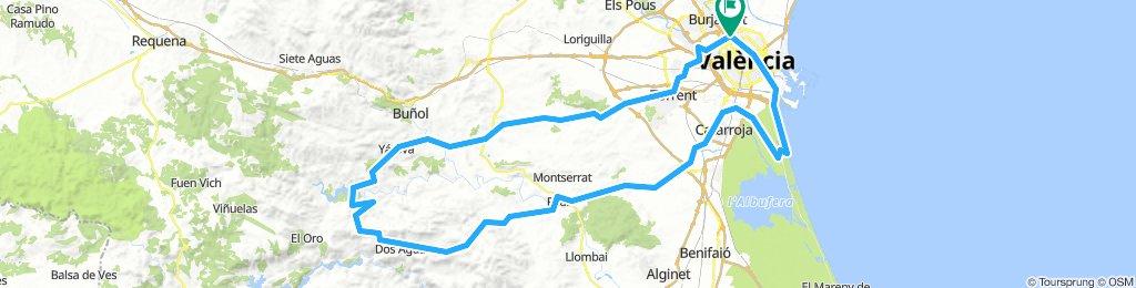 3. Valencia- de forata- El Saler- Valencia