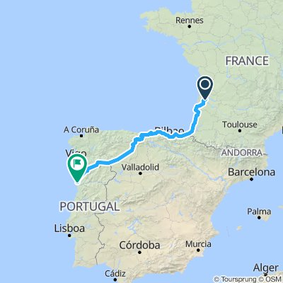 Lacanau to Porto 2019 V1