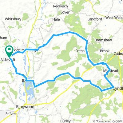 alderholt - 50k loop