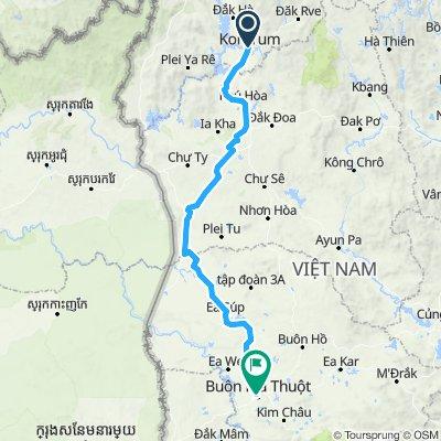 Vietnam D11 - Kon Tum - Buon Ma Thuot