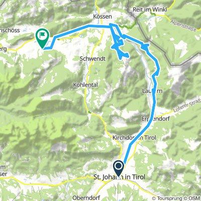 Bikeschaukel-Etappe / Etappe St. Johann bis Walchsee