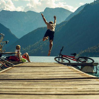 Bike Trail Tirol - Etappe Scharnitz - Achensee