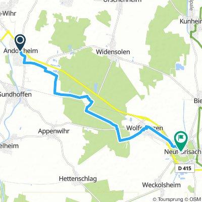 Andolsheim to Neuf-Brisach