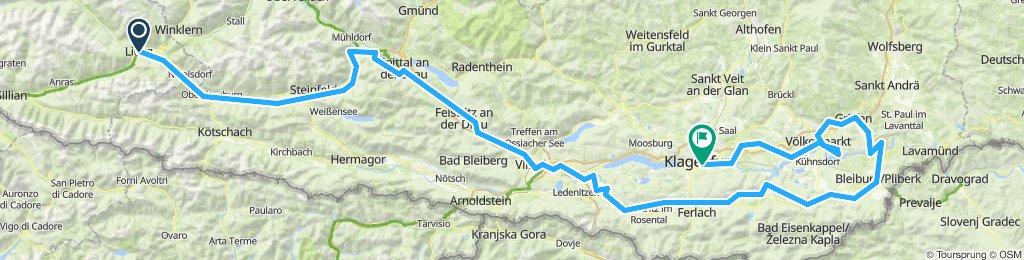 Drauradweg ab Lienz