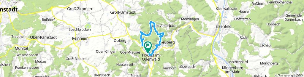 Sausteige über Sandbach dann Kellergrund und Burzelberg