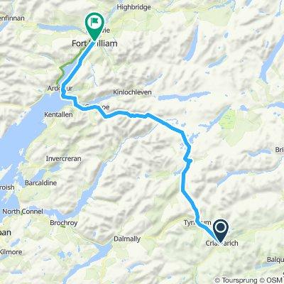 Stage 14 Crianlarich to Fort William