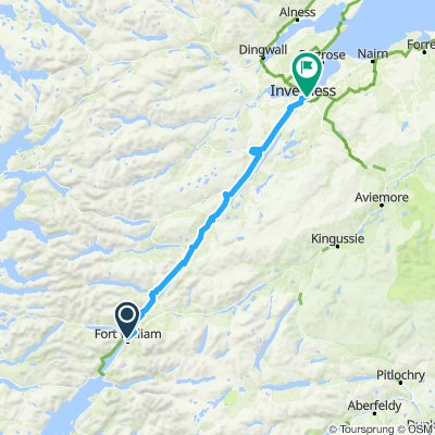 Stage 15 Fort William-inverness