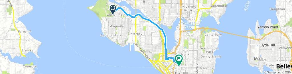 Steady ride in Seattle