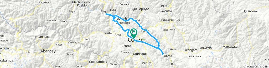 Vuelta Cuzco . Valle Sagrado