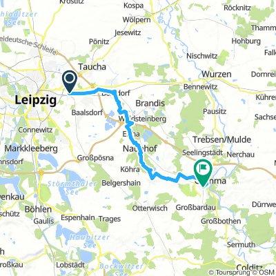 Leipzig-Paunsdorf - Grimma