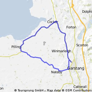L304 course for Wigan Wheelers open 30 8/5/11