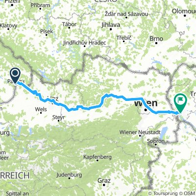 Eurovelo Austria Passau- Bratislava