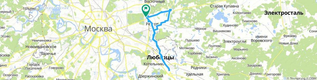 Велопоездочки курьерские Балашиха - Реутов -Томилино