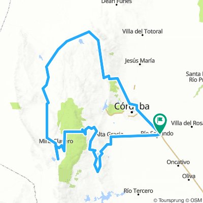 Vuelta por los Valles Serranos - Cordoba