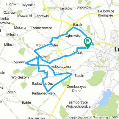 Lotnisko - 50km