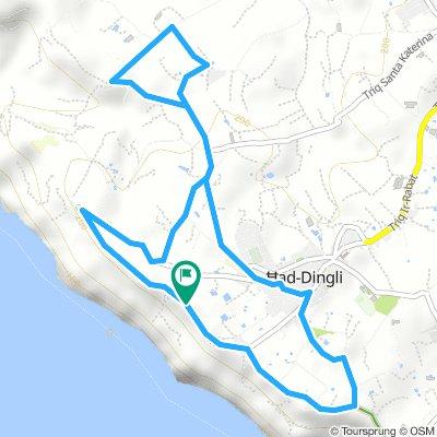 Dingli, misrah suffara short route