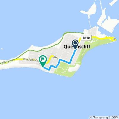 Snail-like route in Queenscliff