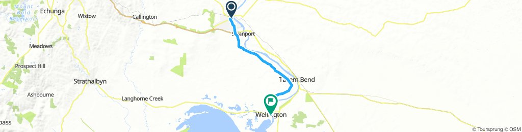 Murray Bridge to Wellington  SA