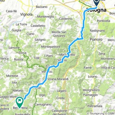 CVS 12 - Bologna - Porretta Terme (diretta)