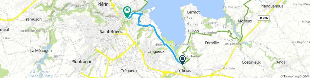 Saint Brieuc - Yffiniac