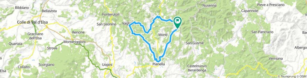 San Regolo - Pianella - Vagliagli - S. Regolo
