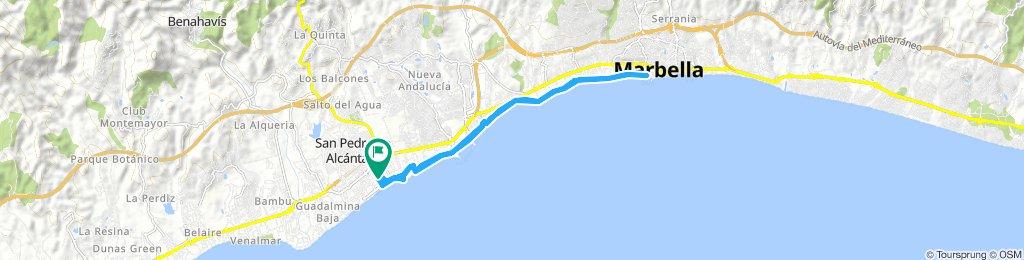 San Pedro to Marbella