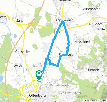 Rheintal-Weg Offenburg-Appenweier