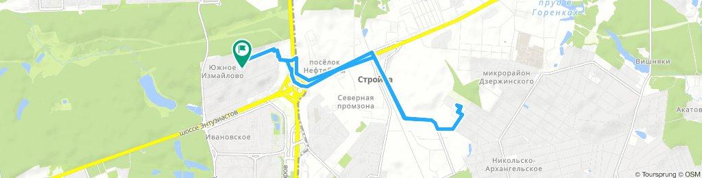 Велозабор из Никольско-Архангельского (городской округ Балашиха) 21 03 2019