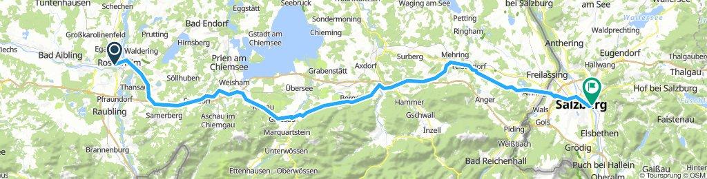 Rosenheim to Salzburg