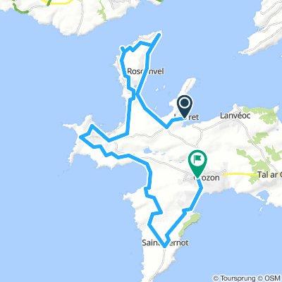 Day 3b Part 2 Fret Port to Crozon 47 km