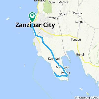 Radwege und Routen in und um Zanzibar Urban/West | Bikemap - Deine on