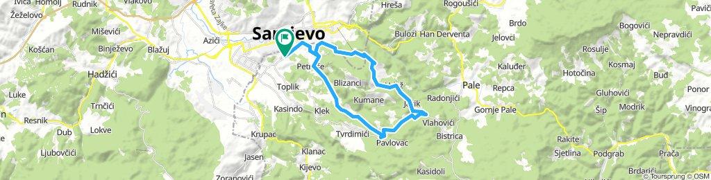 Put oko Trebevića