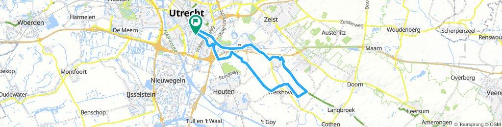 Utrecht - Werkhoven - Odijk - Utrecht