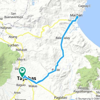 tayabas mauban tayabas ride