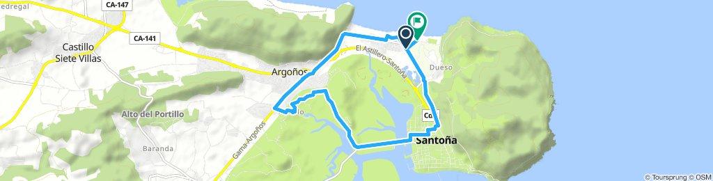 Paseo rápido en Santoña