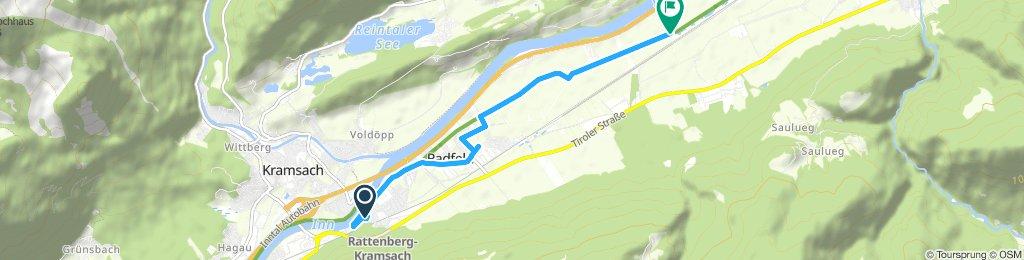 Route im Schneckentempo in Kundl