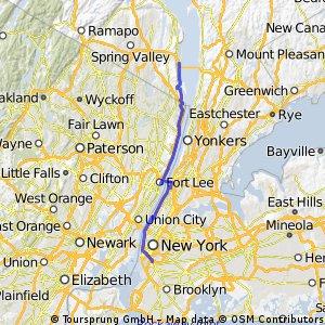 Brooklyn to Nyack