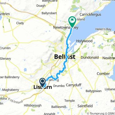 Belfast Lough - Lisburn